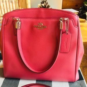Coach Minetta crossgrain leather purse cross body